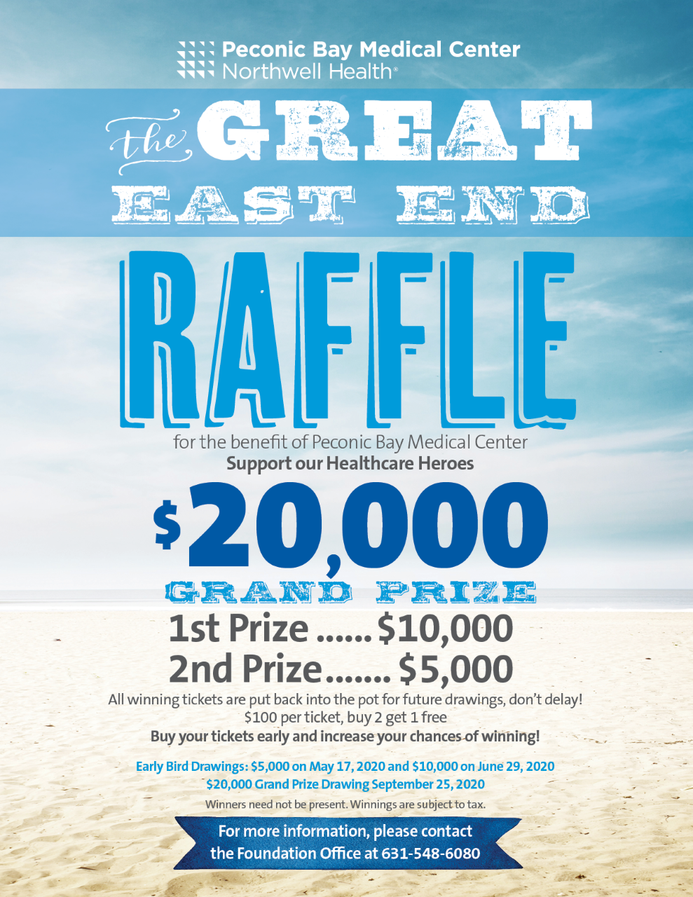 New Raffle Flyers